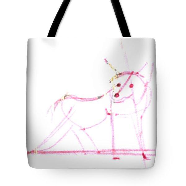 Spirit Animal . Ghost Fox Tote Bag