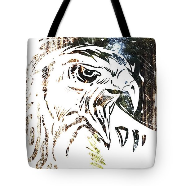 Spirit Animal . Hawk Tote Bag