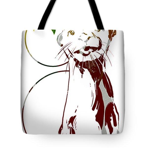 Spirit Animal . Otter Tote Bag