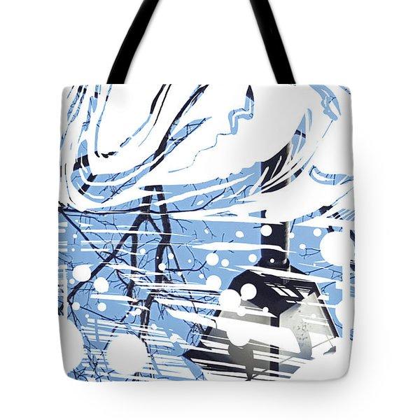 Spirit Animal . Swan Tote Bag