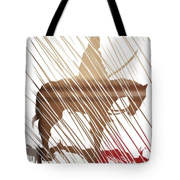 Spirit Animal . War Horse  Tote Bag