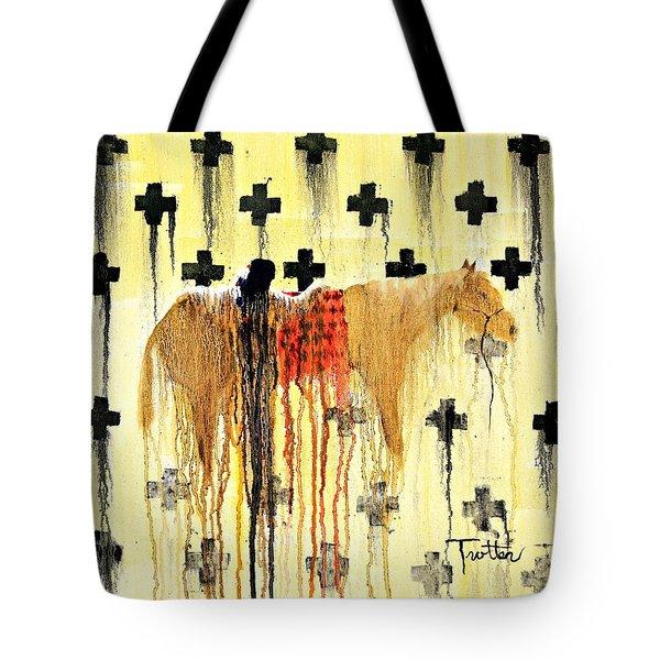 Spirit Blanket Tote Bag by Patrick Trotter
