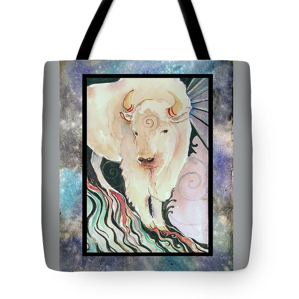 Spirit Buffalo Tote Bag