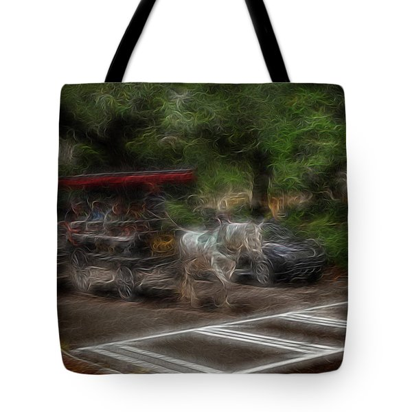 Spirit Carriage 1 Tote Bag by William Horden
