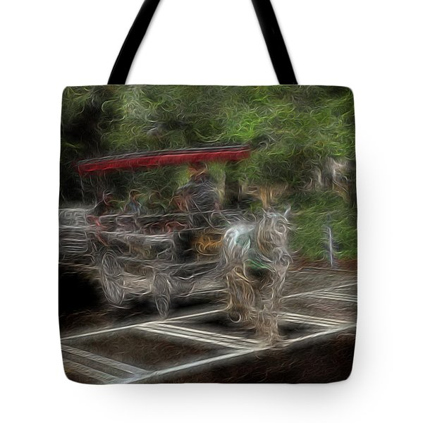 Spirit Carriage 2 Tote Bag by William Horden