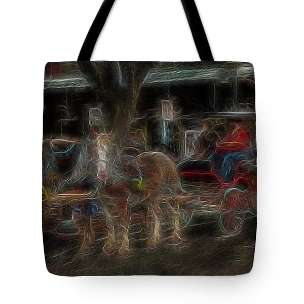 Spirit Carriage 3 Tote Bag by William Horden