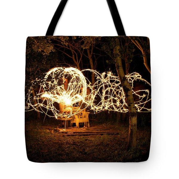 Spirit Dance Tote Bag by Ellery Russell