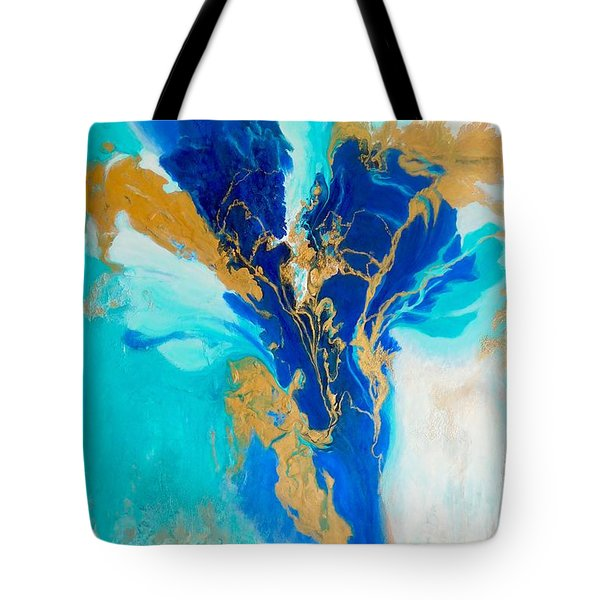 Tote Bag featuring the painting Spirit Dancer by Irene Hurdle