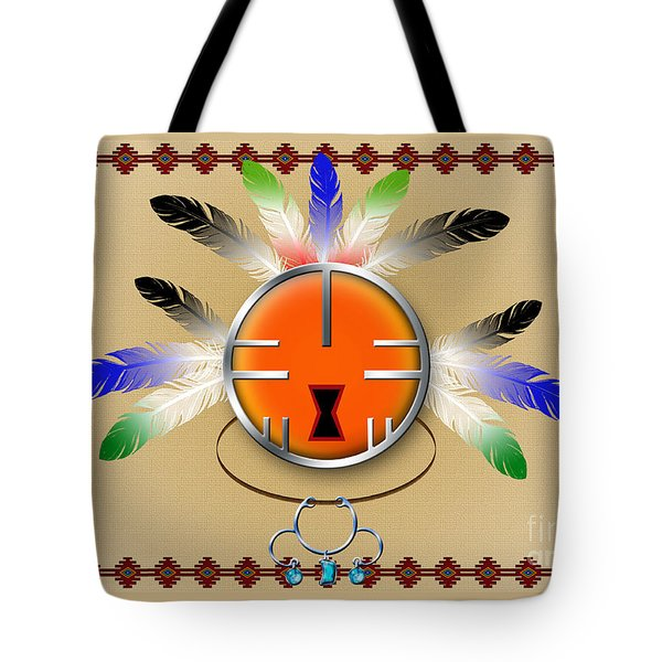 Spirit Face Tote Bag