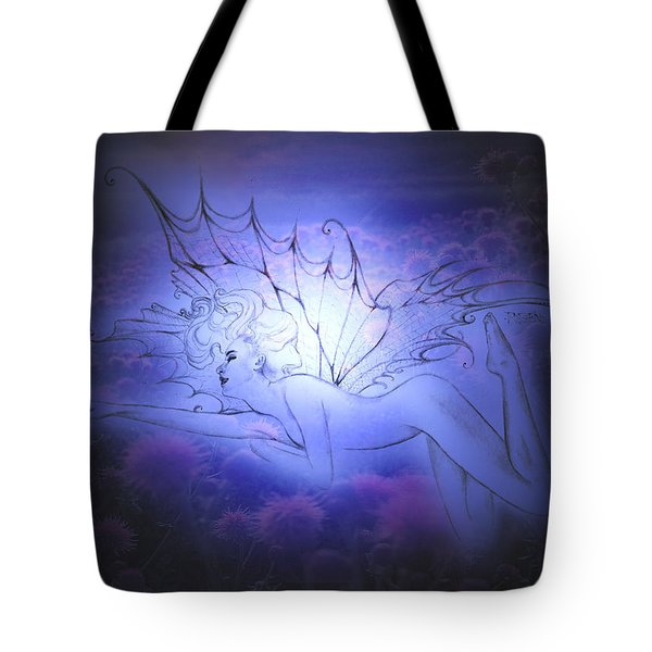 Spirit Fay Tote Bag by Ragen Mendenhall