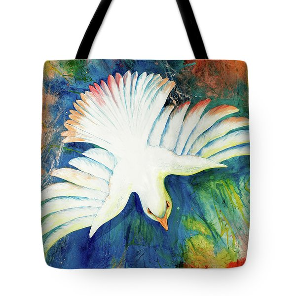 Spirit Fire Tote Bag