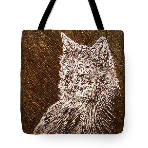 Spirit Fox  Tote Bag by Rick Silas