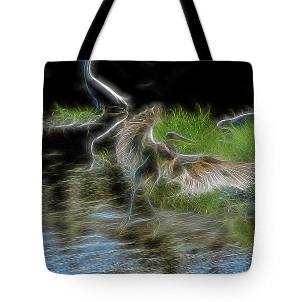 Spirit Garden 4 Tote Bag by William Horden
