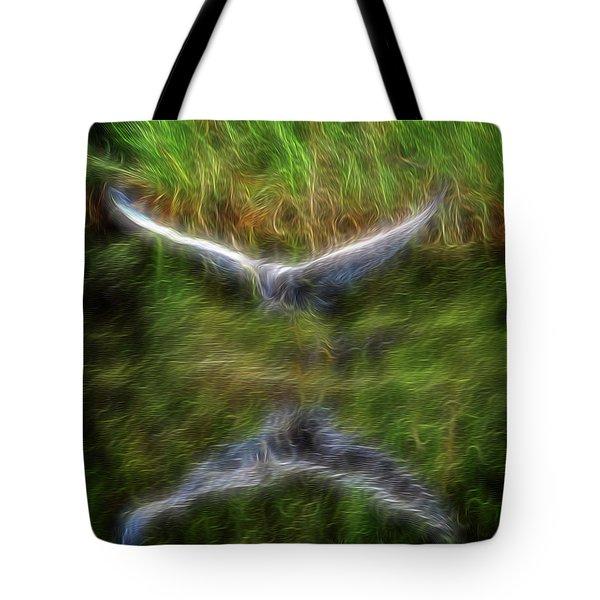 Spirit Garden 7 Tote Bag by William Horden