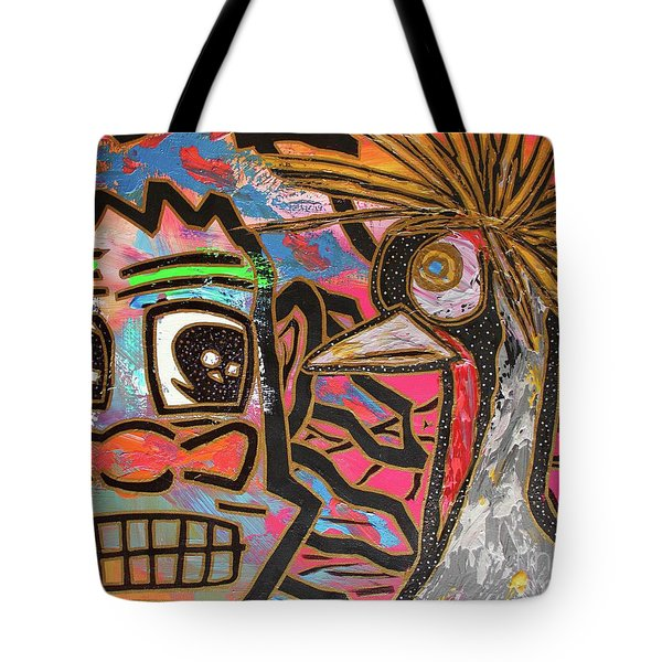 Spirit Guide Cranes Tote Bag