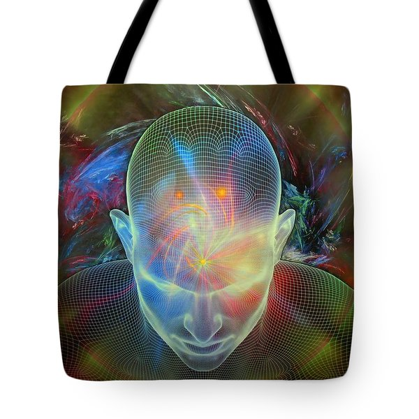 Spirit Guide Tote Bag by Michael Durst