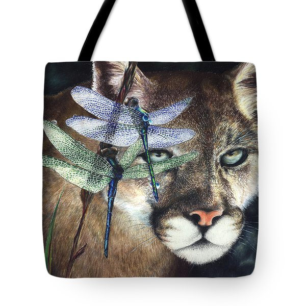 Tote Bag featuring the painting Spirit Guides by Ragen Mendenhall