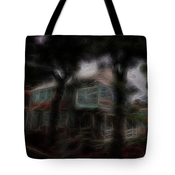 Spirit House Tote Bag by William Horden
