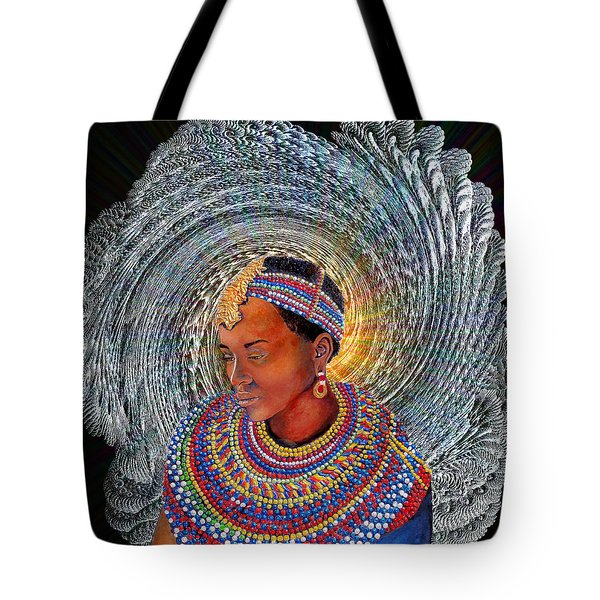 Spirit Of Africa Tote Bag by Michael Durst