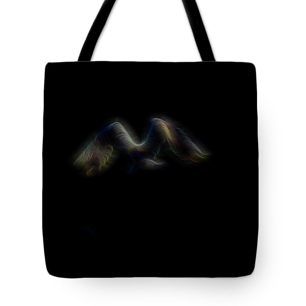 Spirit Of Air 4 Tote Bag by William Horden