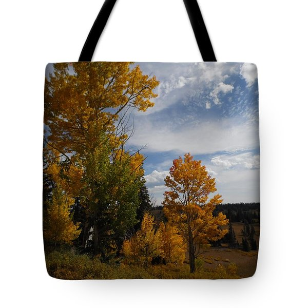 Tote Bag featuring the photograph Spirit Of Autumn Dixie National Forest, Utah by Deborah Moen