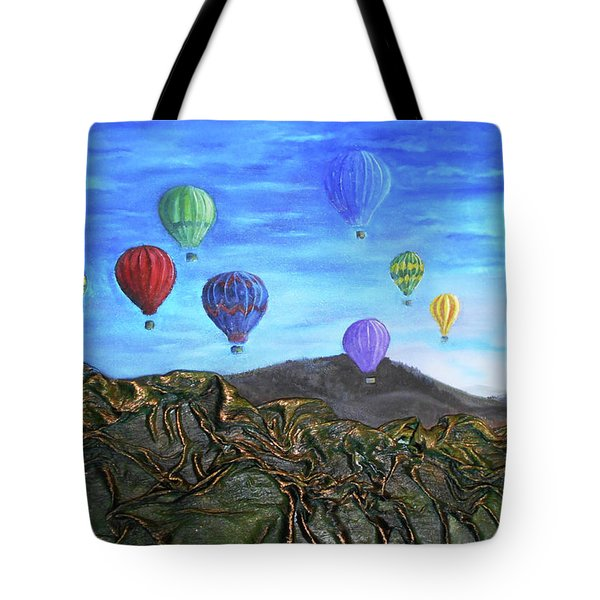 Spirit Of Boise Tote Bag