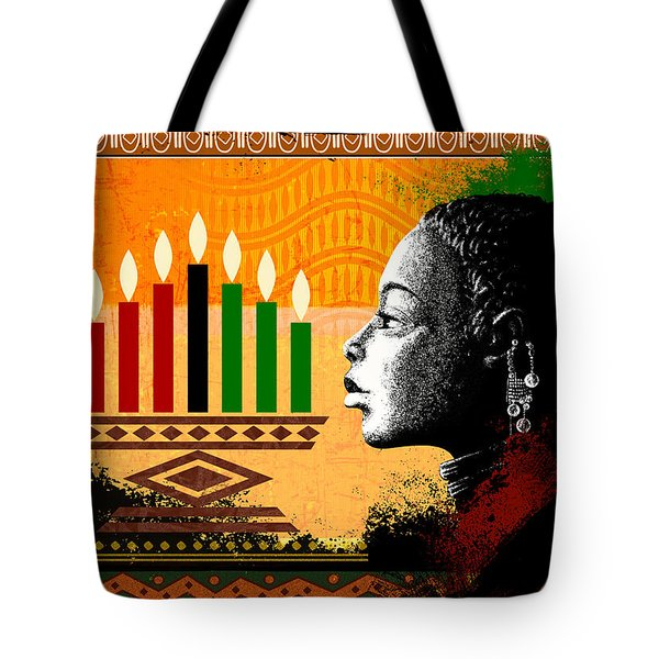 Spirit Of Kwanzaa Tote Bag