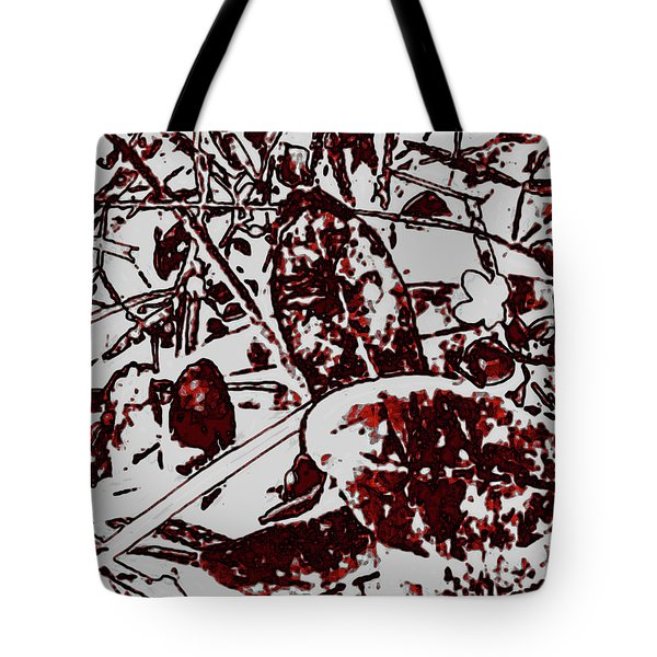 Spirit Of Leaves Tote Bag by Gina O'Brien