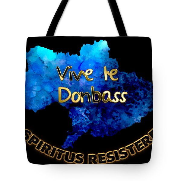 Spirit Of Resistance Tote Bag