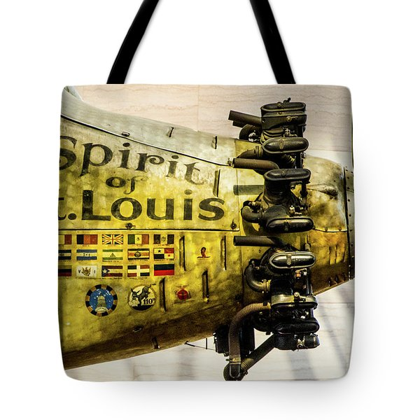 Spirit Of St Louis Tote Bag