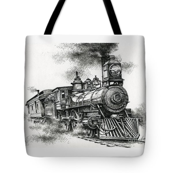 Spirit Of Steam Tote Bag by James Williamson