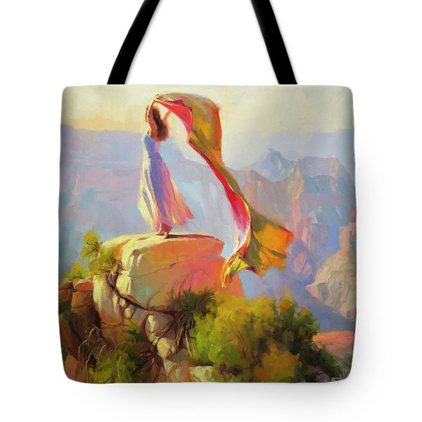 Spirit Of The Canyon Tote Bag