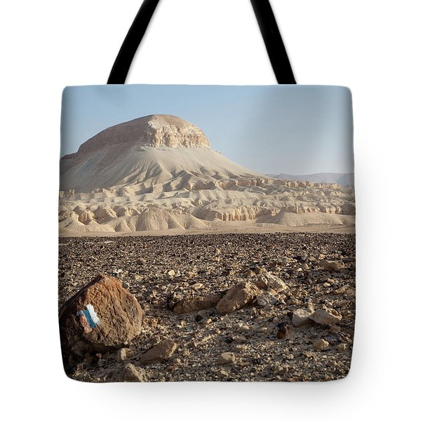 Spirit Of The Desert Tote Bag by Yoel Koskas
