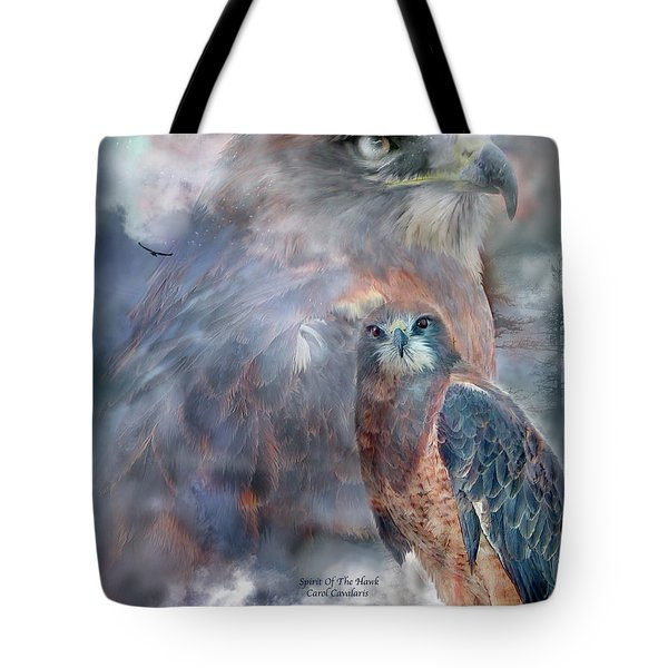 Spirit Of The Hawk Tote Bag