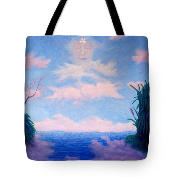 Spirit Of The Lake Tote Bag by Brian  Commerford