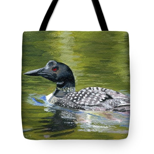 Tote Bag featuring the painting Spirit Of The North by Lynne Reichhart