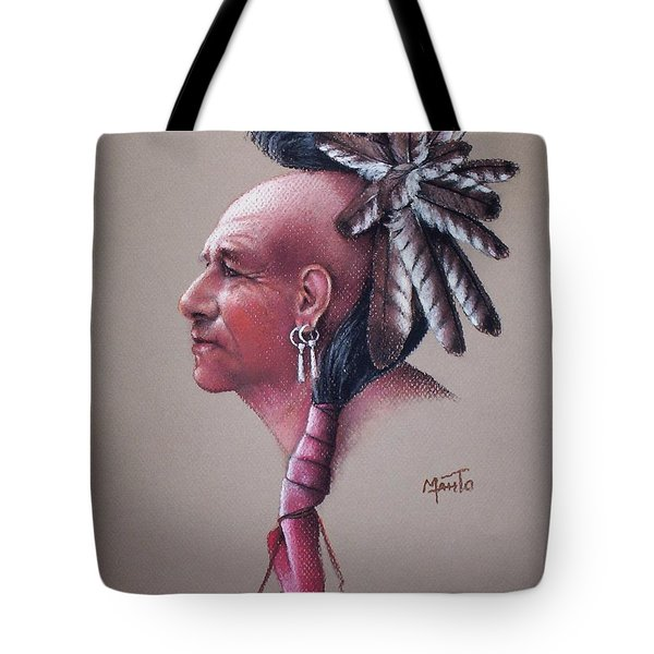 Spirit Of The Owl Tote Bag by Mahto Hogue