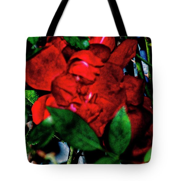 Spirit Of The Rose Tote Bag by Gina O'Brien