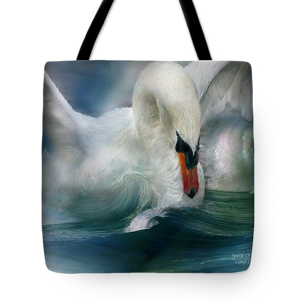 Spirit Of The Swan Tote Bag