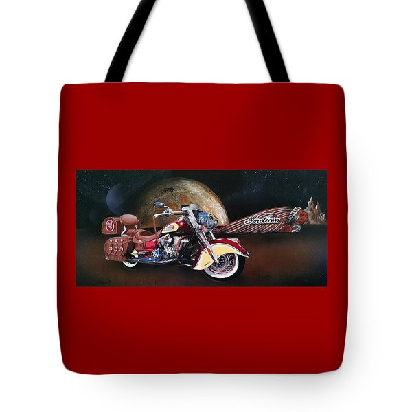 Spirit Of The Wild West Tote Bag