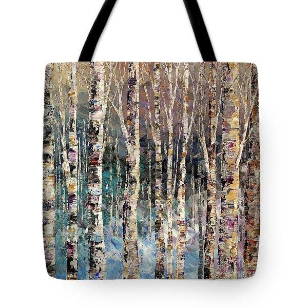 Spirit Of Winter Tote Bag