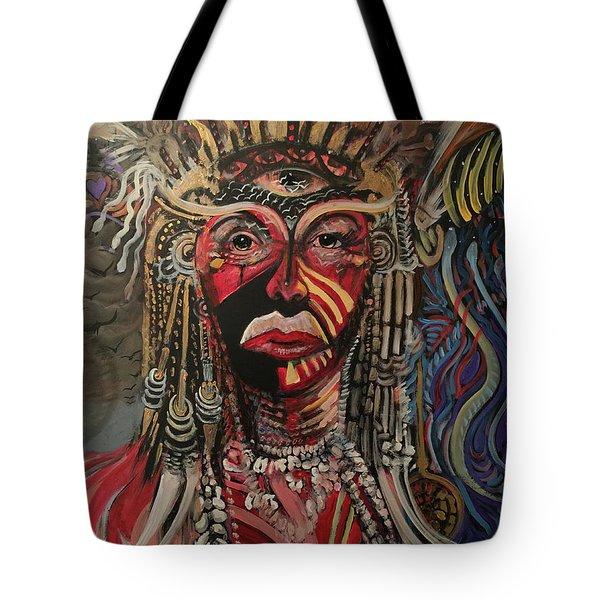 Spirit Portrait Tote Bag