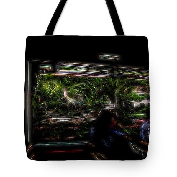 Spirit Tour Tote Bag by William Horden