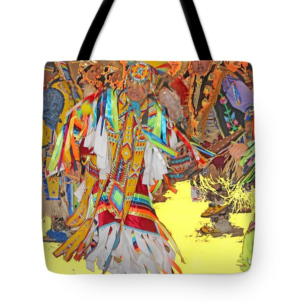 Spirited Moves Tote Bag by Audrey Robillard
