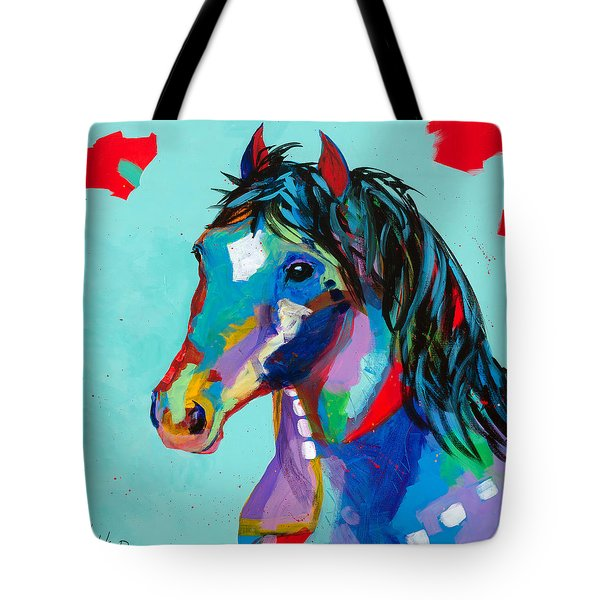 Spirited Tote Bag by Tracy Miller