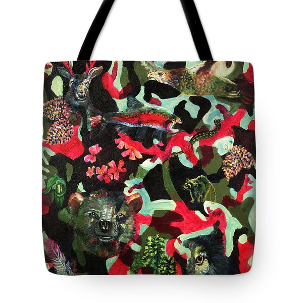 Spirits Of The Forest Tote Bag by Peter Bonk
