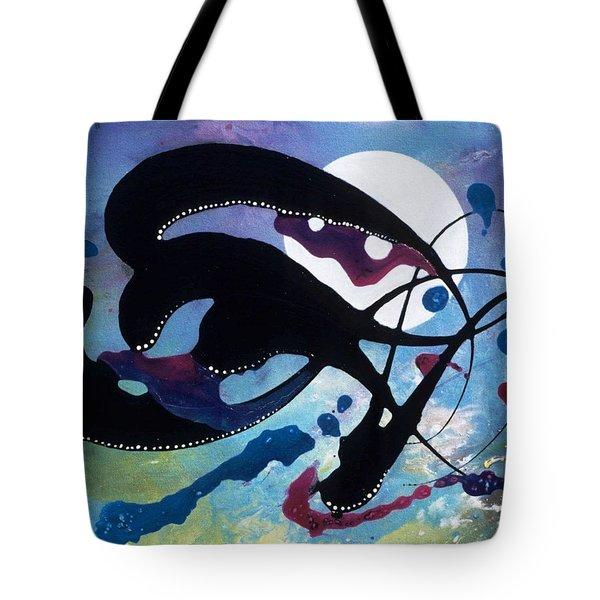 Spirits Of The Moon Tote Bag by Lee Pantas