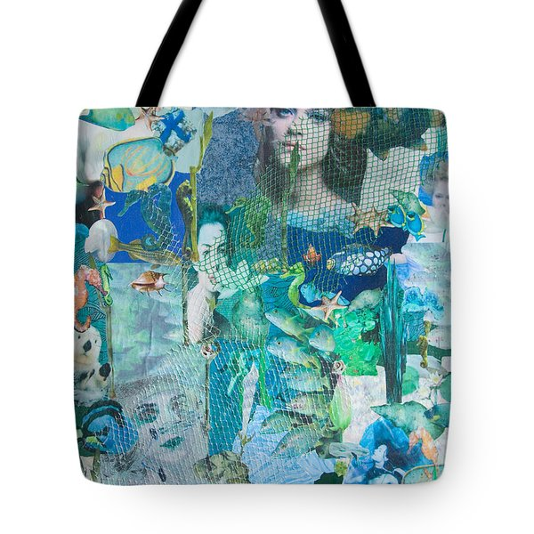 Spirits Of The Sea Tote Bag by Sandy McIntire