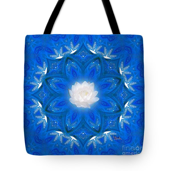Spiritual Art - To Purify Your Mind And Soul By Rgiada Tote Bag by Giada Rossi