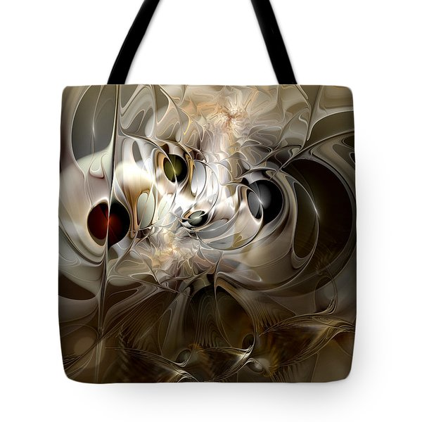 Tote Bag featuring the digital art Spiritual Chops by Casey Kotas